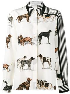 рубашка с принтом собак Stella McCartney