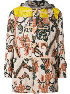 пальто-дафлкот с жаккардовым узором Vivienne Westwood Gold Label