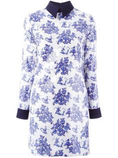 платье с цветочным принтом Victoria Victoria Beckham