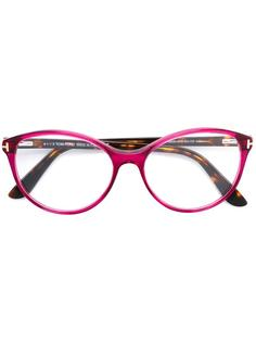 round shaped glasses Tom Ford Eyewear