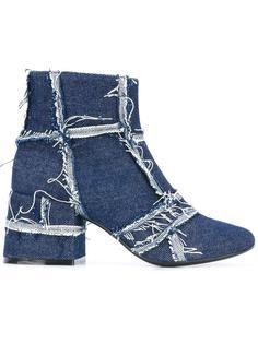 джинсовые ботинки по щиколотку Mm6 Maison Margiela