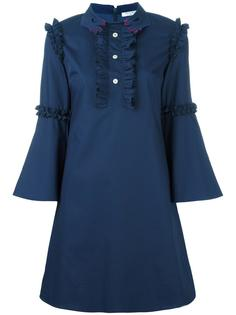 ruffled detailing flared dress Vivetta