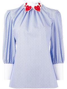 gathered neck blouse Vivetta