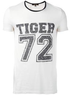футболка с принтом Tiger Roberto Cavalli