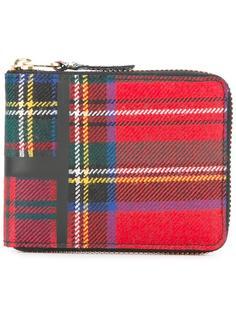'Tartan Patchwork' small wallet Comme Des Garçons Wallet