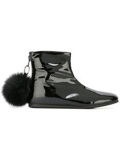 ботинки на молнии с помпоном Joshua Sanders