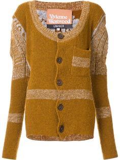 puff shoulder cardigan Vivienne Westwood