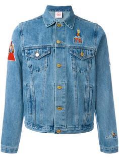 джинсовая куртка с нашивками 'Bart' Joyrich