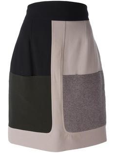 patch pocket skirt  Fendi Vintage