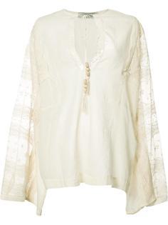 lace panel blouse  Veronique Branquinho