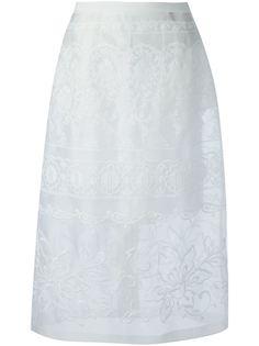 многослойная юбка с вышивкой Nº21
