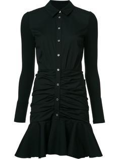 платье-рубашка с расклешенным подолом Veronica Beard