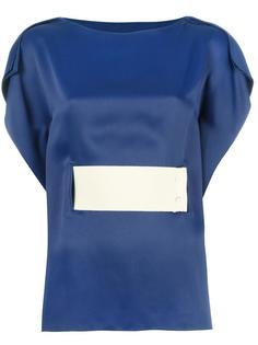 блузка с широким ремнем Mm6 Maison Margiela