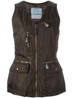 sleeveless jacket Prada Vintage