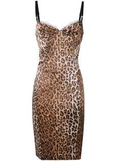 cheetah print camisole dress Dolce & Gabbana Vintage