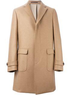 однобортное пальто  Salvatore Ferragamo