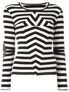 hypnotic stripes top  Mm6 Maison Margiela