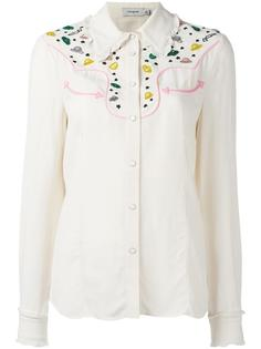 декорированная рубашка Coach