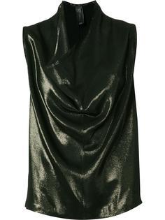 драпированная блузка Zero + Maria Cornejo