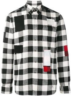 рубашка в клетку Uniform Experiment