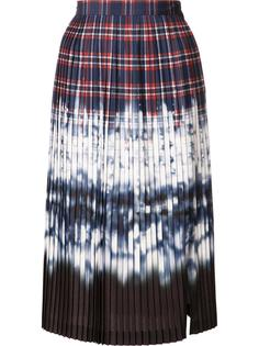 tie dye pleated skirt Altuzarra
