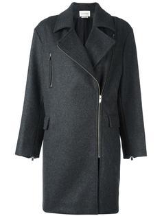 пальто со смещенной застежкой на молнию Isabel Marant Étoile