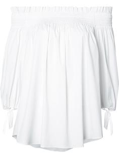 off-shoulder blouse Caroline Constas