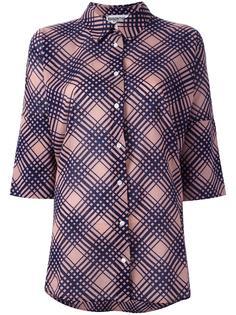 printed check shirt  Essentiel Antwerp