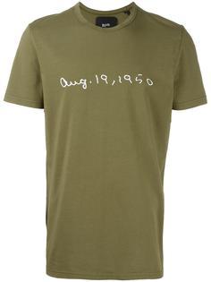 футболка с комбинированным принтом  Blood Brother
