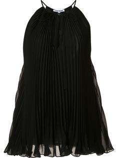 плиссированная блузка с V-образным вырезом Elizabeth And James