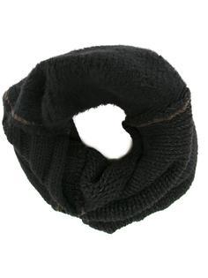 шарф с декоративной строчкой Isabel Benenato