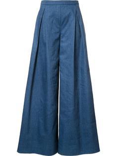 широкие брюки Carolina Herrera