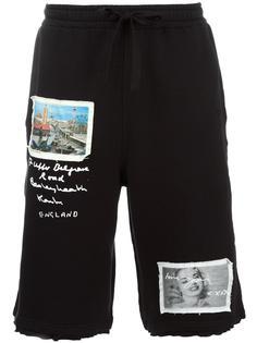 спортивные шорты с заплатками Blood Brother