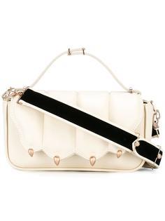 сумка через плечо с бархатной лямкой Marco De Vincenzo