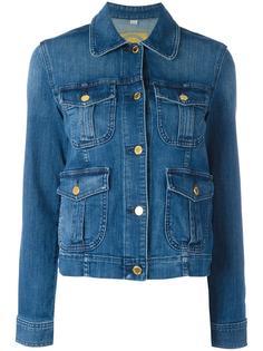 джинсовая куртка с карманами Michael Kors