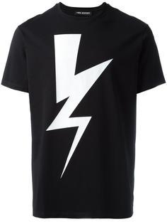 lightning bolt T-shirt Neil Barrett