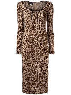 leopard print dress Dolce & Gabbana Vintage