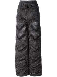 прямые брюки с эластичным поясом M Missoni