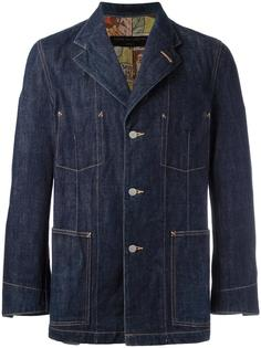 'Inside Out' style jeans jacket Comme Des Garçons Vintage