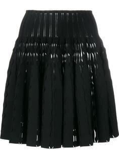 расклешенная юбка мини Alaïa