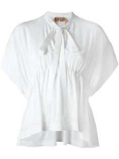 блузка с V-образным вырезом Nº21