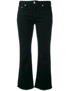 укороченные рваные джинсы Roberto Cavalli