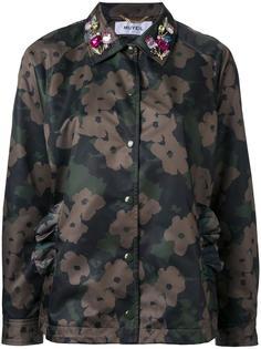 пиджак с камуфляжным принтом Muveil