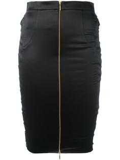 zip up pencil skirt  Murmur