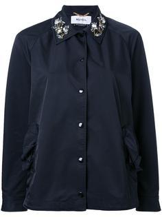 куртка с декорированным воротником Muveil