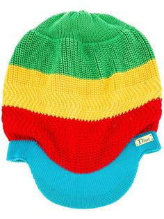 'Rasta Mania' knitted hat Christian Dior Vintage