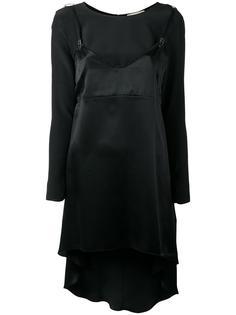 long slip overlay blouse  Murmur