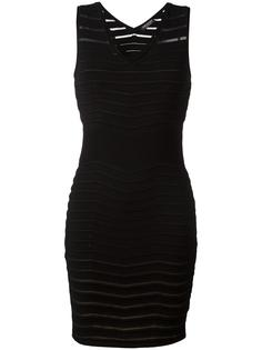 ribbed detail fitted dress  Twin-Set