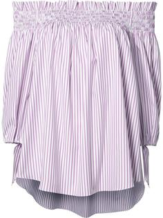 striped off-shoulder blouse Caroline Constas