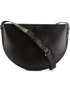 маленькая сумка в форме полумесяца Victoria Beckham